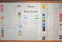 March Book Battle 2015 / This March, vote each week for which books should advance in our competition! Books for adults and teens. / by Montgomery County Public Libraries