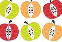 Ma pomme - the apple of my eye / Plein d'idées et d'activités pour exploiter ce fruit jusqu'au trognon ! Many ideas and activities !