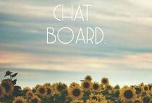 Chat Boarddd.▣ / Anyone is invited to pin here.♡ You can just ask me or other Pinners to be added. ♥ Well love you guys .♡♥