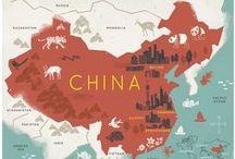 Continent asiatique - Chine - Pékin / Continent asiatique : escale en Chine