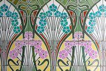 Art nouveau - jugenstil - école de Nancy / Mobilier, architecture et art pictural aux lignes courbes inspirées par la nature ...