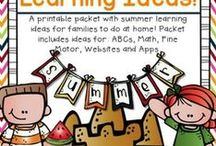 """"""" My All Things Summer!  End of the Year, Camping, & Other Activities for Kids"""" / Keep a little EDUCATION fun during vacation...  All grades!"""