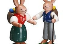 German Figurines / To display around your house during the holidays or all year round!
