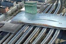Dutch railway stations