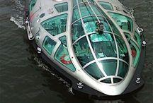 Bateau-mouche, peniche, barge, pinasse ... / tra la barca e la riva a separarci si alza un salice. Masaoka Shiki