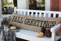Fall My Favorite Season / Fall, Halloween & Thanksgiving / by Julie Metivier