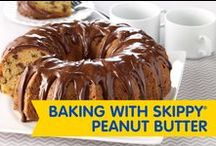 Baking with SKIPPY® Peanut Butter / For a sweet dessert that's easy to make, browse these super simple baking recipes for peanutty perfection! / by SKIPPY® Peanut Butter