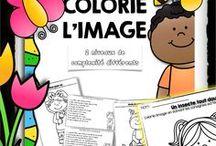 Français en classe / Activités de Français pour les élèves du primaire. Activités pédagogiques en Français pour le primaire. French second language