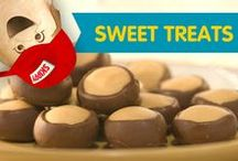 Sweet Treats / Satisfy your sweet tooth with any of these delicious dessert ideas. From chocolate and peanut butter cake to peanut butter fudge, the mouthwatering recipes are here!