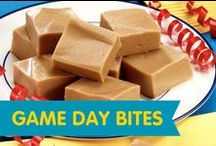 Game Day Bites /  Put these game day bites in your starting line-up and you're sure to score at any tailgate or game day party.