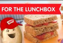 For the Lunchbox /  Lunchtime is even more exciting with these sweet and salty midday meals.