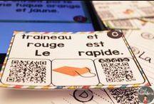 Codes QR au primaire / Utilisez les code QR avec vos IPAD pour naviguer sur Internet ou pour valider vos réponses.  Tellement stimulant pour les élèves ! Auto-correction !