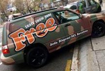 Subaru Negra a vinilo Camouflage acabado Mate Car Wrapping by Pronto Rotulo since 1993 / Tu coche yá no te gusta ? has pensado en cambiarlo en vinilo? Aquí tienes un ejemplo de cómo queda, en este caso sobre un Subaru Forester que luego de pulir todos los detalles de 10 años en la calle, podemos llevarlo a un acabado especial. Vinilado integral Subaru Forester cliente Free Barcelona en vinilo impreso + clear protector acabado Mate. Materiales especiales Wrap de MacTac larga duración. + info en prontorotulo.com + info en facebook.com/prontorotulo + info en twitter.com/prontorotulo / by Pronto Rotulo