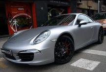 """Porsche 911 4S en vinilo Gris Claro Metalizado a Gris Mate Car Wrapping by Pronto Rotulo since 1993 / Sabes que es """"Car Wrapping """"? Simplemente es una palabra de moda que describe cubrir un coche con vinilo, y eso es lo que hacemos desde hace casi 20 años,  .  En este video tienes un ejemplo de vinilado integral de un Porsche 911 4S con Gris claro brillante a Gris Claro Metalizado Mate con materiales MacTac Tuning Film gama alta especial para wrap.  + info en http://www.prontorotulo.com/ + info en https://www.facebook.com/prontorotulo  / by Pronto Rotulo"""