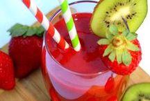 smoothies et boissons vitaminées / by mimine