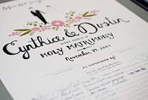 Guestbooks / Creative guestbooks for your wedding