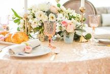 Showers and Brunches / Wedding parties, bridal showers, and bridal brunches for you, your bridesmaids, and friends