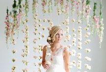 Backdrops and wall art / Wedding Backdrops
