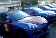 Porsches Cayenne Sony XPERIA Z1 Spyderman para Mobile World Congress by Pronto Rotulo / Si te mueves por Barcelona en estos dias, sabrás que está la exposición mundial de los móviles llamada Mobile World Congress, y Sony tuvo una idea brillante en vinilar 10 Cayennes + 2 Caymanes con fondos de Spyderman promocionando sus XPERIA, que hacen de Shutlle para los invitados al evento. Pronto Rotulo no podía faltar a la fiesta y aquí tienes el resultado! + info en https://www.facebook.com/prontorotulo  / by Pronto Rotulo