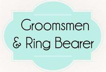 Groomsmen & Ring Bearer