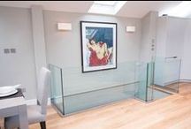 Glass Balustrade / Glass balustrade frameless systems.