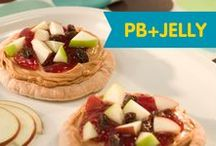 Peanut Butter + Jelly / Crank up the fun with these way wacky PB&J combos that the little ones will love.