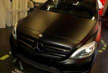 Mercedes Benz Clase B de Gris a Negro Mate Car Wrapping by Pronto Rotulo since 1993 / No te gusta el color de tu coche? NO importa! ahora puedes cambiarlo de color con los vinilos exclusivos de Pronto Rotulo! y además puedes pintarle las llantas con vinilo liquido removible.  Car Wrapping con materiales MacTac gama alta. Vinilos liquido para llantas Crown Dip  + info en http://www.prontorotulo.com/ + info en https://www.facebook.com/prontorotulo + info en https://www.twitter.com/prontorotulo + info en https://www.youtube.com/prontorotulo  / by Pronto Rotulo