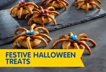Festive Halloween Treats / These spooky peanut butter treats are sure to be a hit at any Halloween party – they're simply boo-rific!