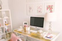 Office Design for the Boss Lady / Inspiration for your creative space