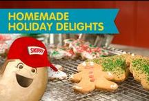 Homemade Holiday Delights / Your holiday guests are sure to save room for these peanut butter packed holiday treats and recipes!  / by SKIPPY® Peanut Butter