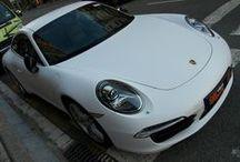 Porsche 991 Amarillo a Blanco Mate - Car Wrapping by Pronto Rotulo since 1993 / Uno yá lo conoces, es nuestro viejito Porsche 964 Carrera 4 ahora en vinilo Camouflage, y el otro acaba de llegar! Es un Porsche 991 que le cambiaremos el color a integral Mate, cual color será?  Aguardamos tus comentarios.  + info en http://www.prontorotulo.com/ + info en https://www.facebook.com/prontorotulo + info en https://www.twitter.com/prontorotulo + info en https://www.youtube.com/prontorotulo + info en http://www.pinterest.com/prontorotulo / by Pronto Rotulo
