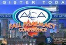 2015 Fall Pharmacy Conference / ACA FALL PHARMACY CONFERENCE 	August 14-15, Denver, Colorado Experience 11 hours of continuing education designed to help you establish your pharmacy as a local health and wellness support center.