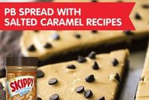 Peanut Butter Spread with Salted Caramel Blogger Recipes / by SKIPPY® Peanut Butter