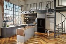 Cuisine-Salle à manger / Atypical Kitchens & Dinning rooms Design around the World !