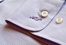 Сделать рубашку уникальной / Вышивка инициалов на рубашке в интернет-магазине Planktonu.net от 300 руб.