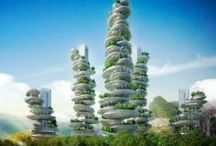 urban / vertical  farm / Urban farming is not only possible, it is crucial. But it can't be like the farming techniques of yore. Homaro Cantu