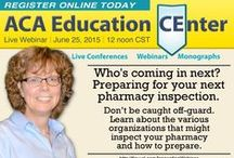 ACA CE Opportunities / Pharmacist and Pharmacy Technician CE