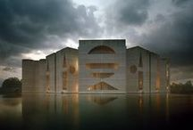 archi - Louis Isadore Kahn / Even A Brick Wants To Be Something. Louis Kahn
