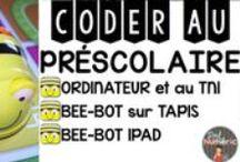 Apprendre à coder à l'école / La programmation au préscolaire avec l'abeille Bee-Bot.