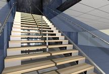 Stairs Design projects / Stairs design proposals .. by Karim Y.