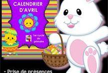 Activités Pâques au préscolaire et au primaire / Histoire de Pâques à écouter, activités de Pâques à imprimer, sites TNI sur le thème de Pâques.