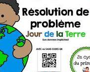 Le jour de la Terre / Activités pédagogiques en lien avec le jour de la Terre au préscolaire et au primaire.