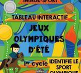 *Jeux olympiques d'été - RIO 2016 / Les Jeux olympiques d'été de Rio 2016 fascinent les petits et les grands. Voici des Idées d'activités pédagogiques en lien avec les Jeux olympiques d'été pour les élèves du préscolaire et du primaire.