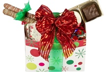 Christmas / It's Christmas in the Candy Store. Our ultimate gift baskets contain a combination of assorted chocolates and candies.