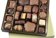 Gift Boxes / A fine selection of milk and dark hand made chocolates from classic old fashioned recipes.