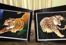 Carlo of Hollywood Watercolor Paintings / Hepcats Haven hepcatshaven.com