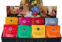 Stash Tea / If there is a brand that is synonymous with a wide list of different high quality tea blends then it is Stash Tea with over 250 blends. These blends are made from high quality handpicked teas from different regions of the world like the Guayusa and Yerba teas from South America or the Chamomile flowers blend from Egypt. http://theteasupply.com/store/category/stash-tea/