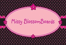 Missy BlossomBoards / Created one crafty day. When I needed a simple storage space for my little cute girls hair accessories. I now only make custom orders and gifts  - - - Est 2010 - - -