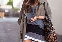 Shades of Fall / Muted tones for autumn are all the rage.