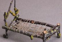 Where fairys live / Fairy homes and gardens. For in or outside decoration
